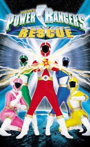Power Rangers Lightspeed Rescue (VHS)
