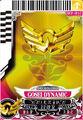 Gosei Dynamic Pink card