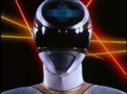 Silver Space Ranger Morph 1