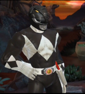 Legacy Wars Mighty Morphin Black Ranger Victory Pose