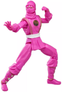 Mighty Morphin Pink Ranger Ninja Lightning Collection