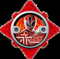 Samurai Red Ninja Power Star (V2)
