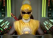 Ninja Storm yellow cockpit