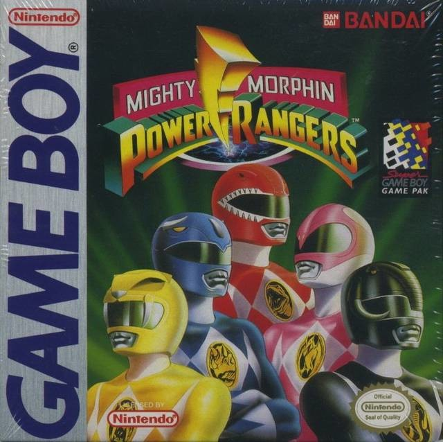 Mighty Morphin Power Rangers (Game Boy)