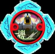 Falconzord Ninja Power Star