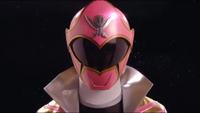 Pink Super Megaforce Ranger Morph 2