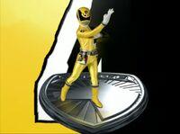 Yellow SPD Ranger Morph 2