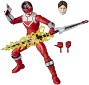 Red Time Force Ranger Lightning Collection