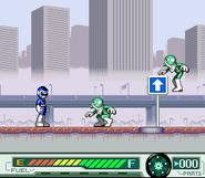 Blue Racer vs Combatant Wumpers