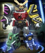 Legacy Wars Samurai Megazord