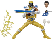 Gold Dino Charge Ranger Lightning Collection