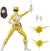 Mighty Morphin Yellow Ranger Lightning Collection