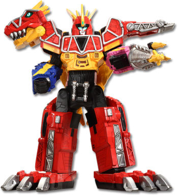 Dino Charge Megazord<br>(Tri-Stego Formation)