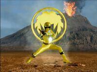Yellow Ninja Storm Ranger Morph 2