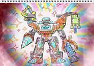 MSK-GigantDriller Giga-mori Special Sketch
