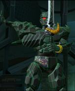 Ecliptor Victory Pose in Legacy Wars