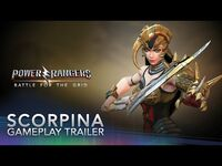 Power Rangers- Battle for the Grid - Scorpina