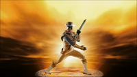 Gold Ninja Steel Ranger Morph 2