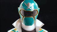 Green Super Megaforce Ranger Morph 2