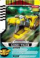 Gosei Tiger card
