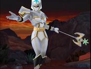 Legacy Wars White Mystic Ranger Victory Pose