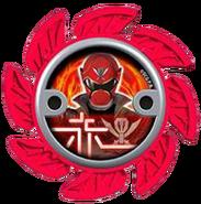 Super Megaforce Red Ninja Power Star (V2)