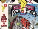 Mighty Morphin Power Rangers (Marvel) Vol. 1 Issue 5
