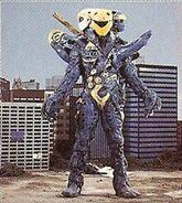 MMPR Blue Globbor Ranger