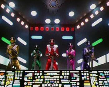 Time Force Megazord