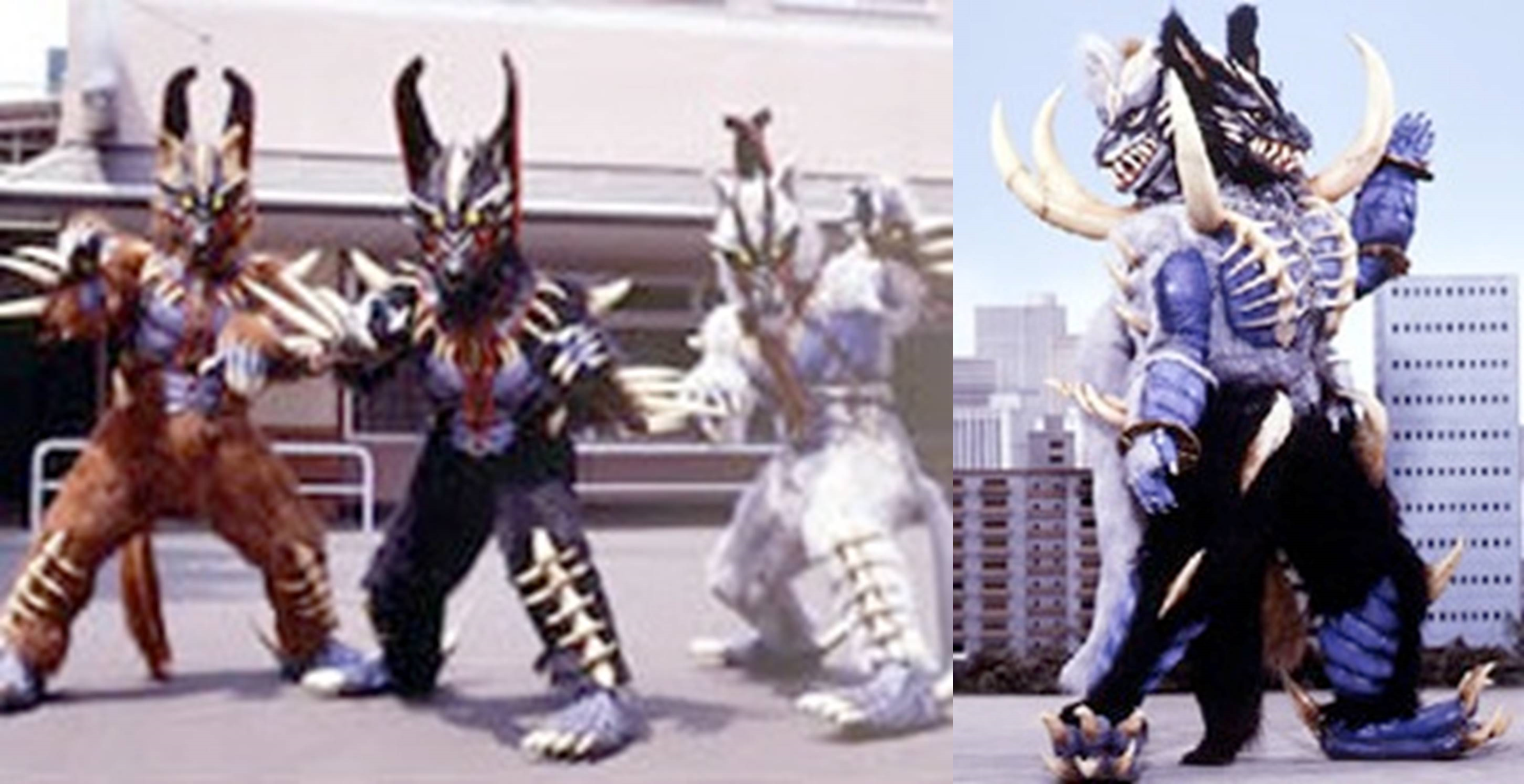 Ninja Wolf Beasts Fangarou/Giant Beast Fangerus