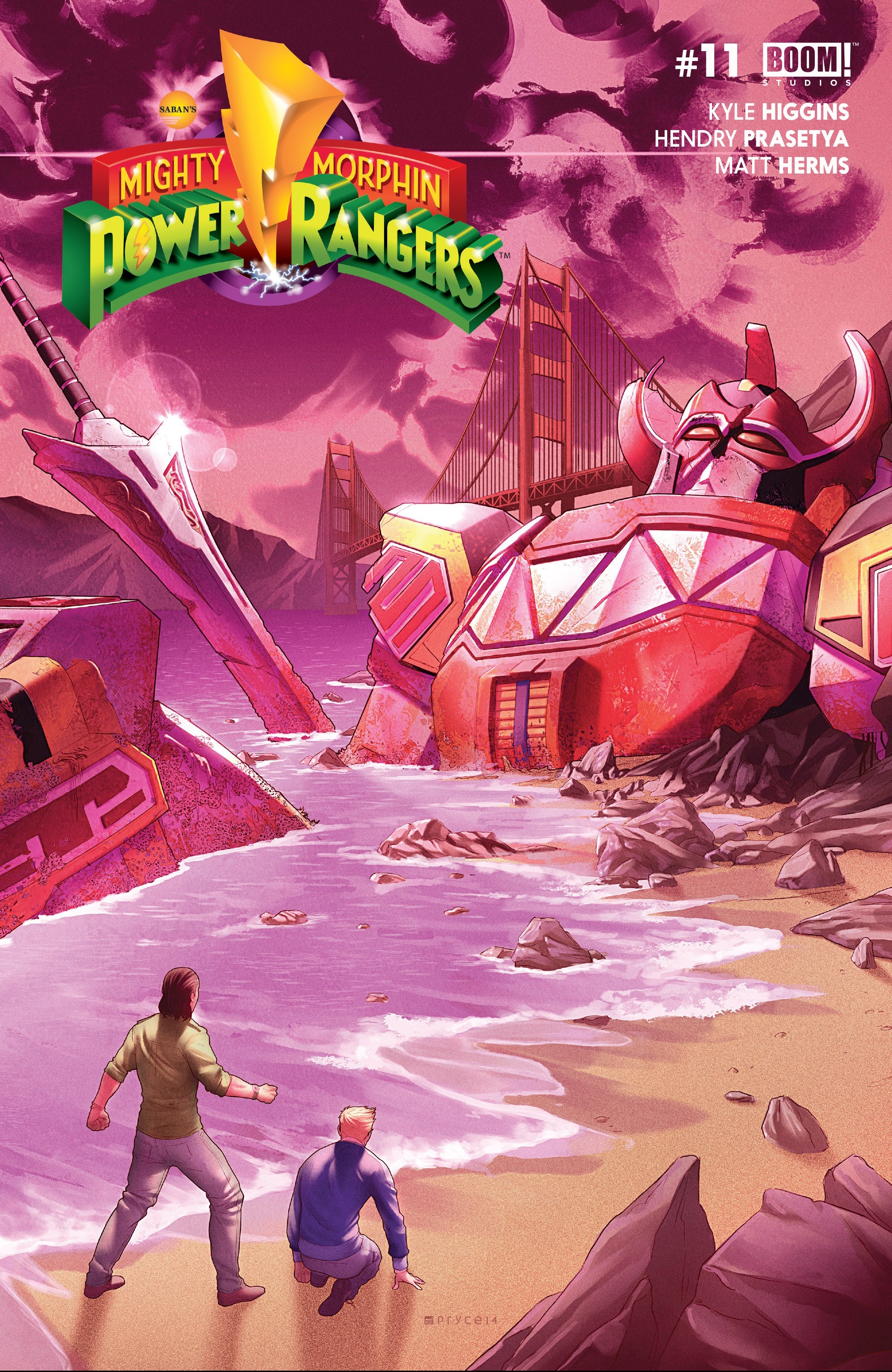 Mighty Morphin Power Rangers (Boom! Studios) Issue 11