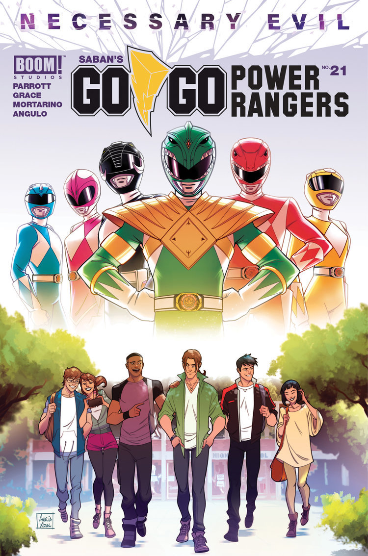 Go Go Power Rangers Issue 21