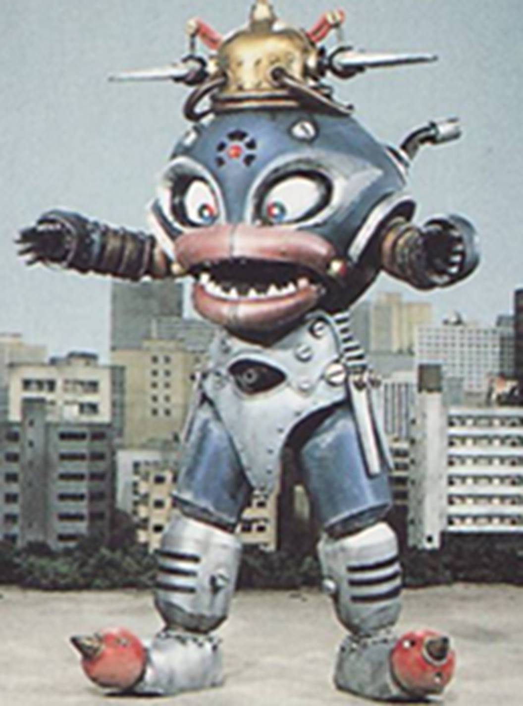 Googleheimer the Toy Robot