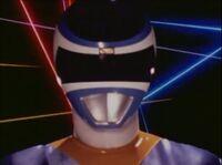Blue Space Ranger Morph 1