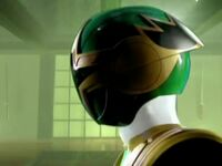 Green Ninja Storm Ranger Morph 1