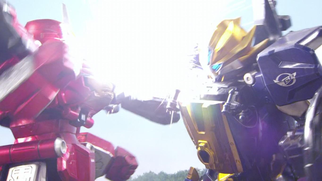 Comparison:Mission 35: Roar, Tategami Lioh! vs. Beast King Rampage