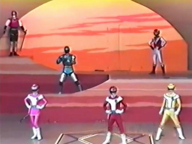 Turboranger Stage Show at Super Hero Nostalgia