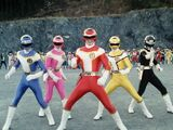 Ep. 1: The Great Gathering of 10 Sentai: Counting on You! Turboranger
