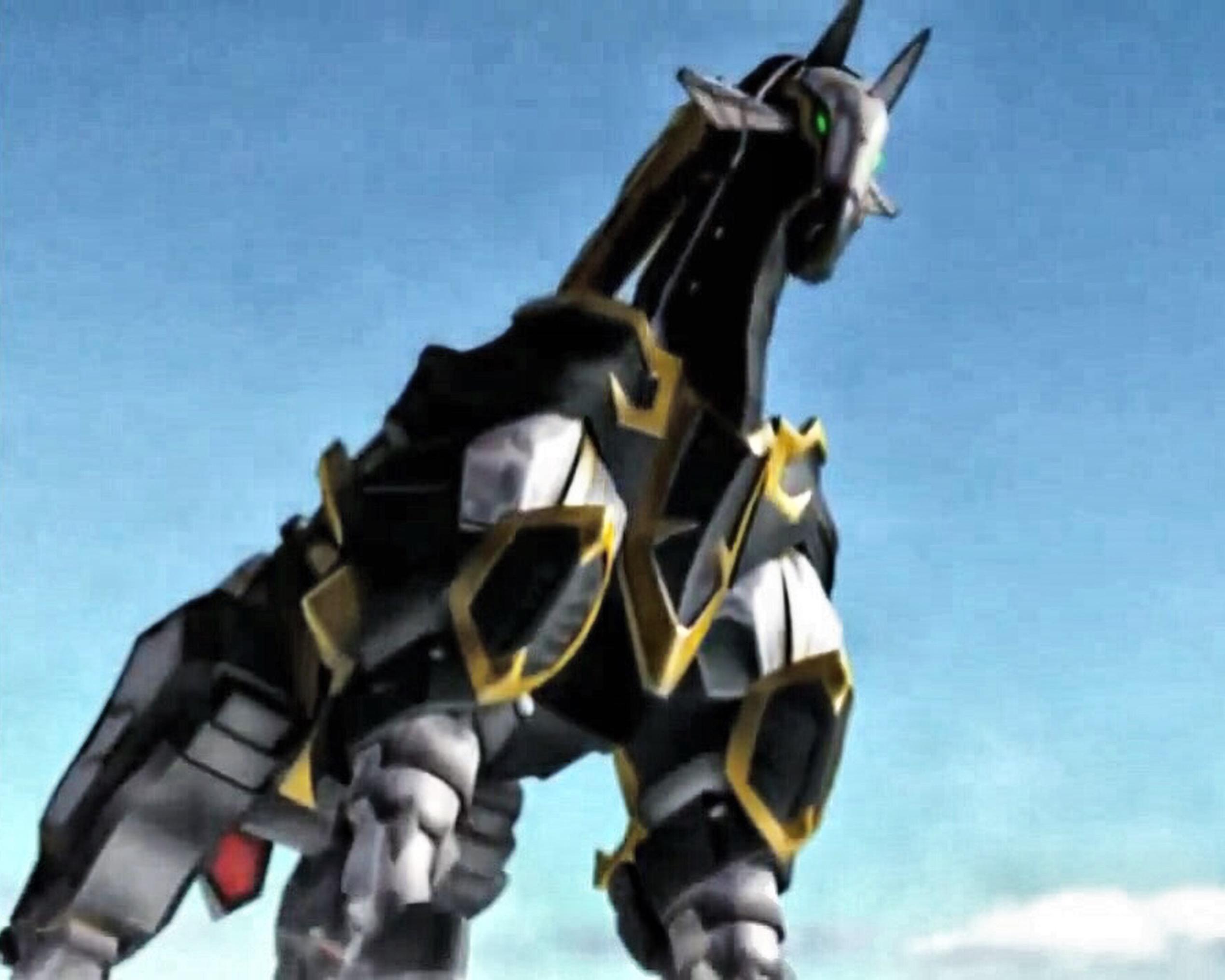 Dark Magic Horse Barikion