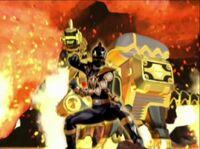 Black Dino Ranger Morph 2
