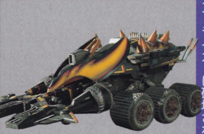 Heavy Industrial Machine Scaravader