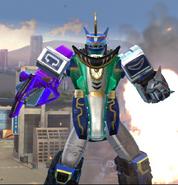 Legacy Wars Predazord Victory Pose