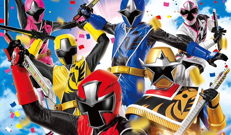 All Together Power Rangers