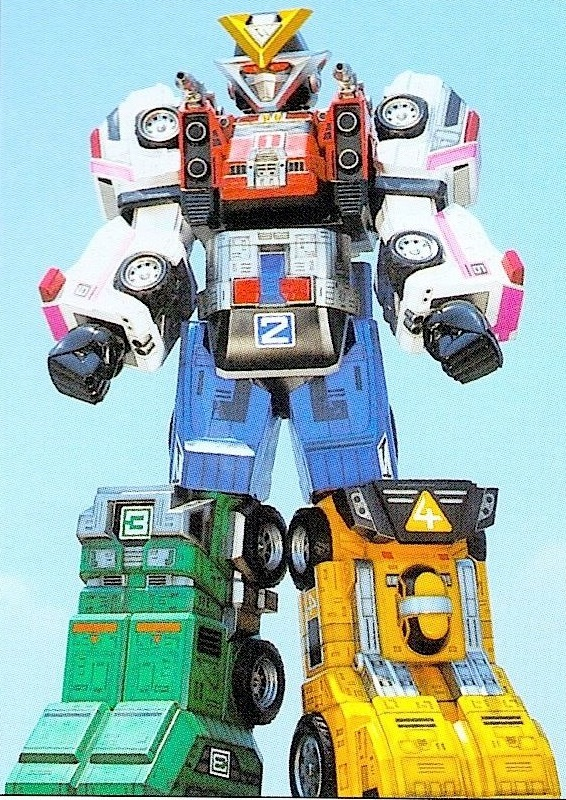 Rescue Megazord/toys
