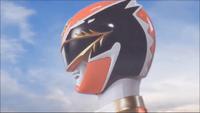Red Megaforce Ranger Morph 1