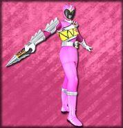 Kyoryu Pink Armed On (Dice-O)