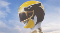 Yellow Megaforce Ranger Morph 1