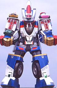 Cho Tokusou Gattai Super Dekaranger Robo