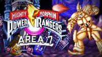 Mighty Morphin Power Rangers (SNES) - Area 7