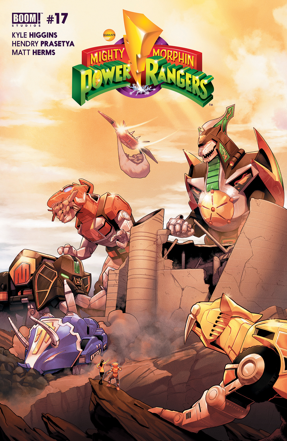 Mighty Morphin Power Rangers (Boom! Studios) Issue 17